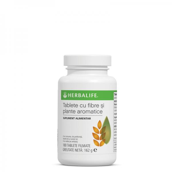 Fibre şi plante aromatice Herbalife 180 de tablete