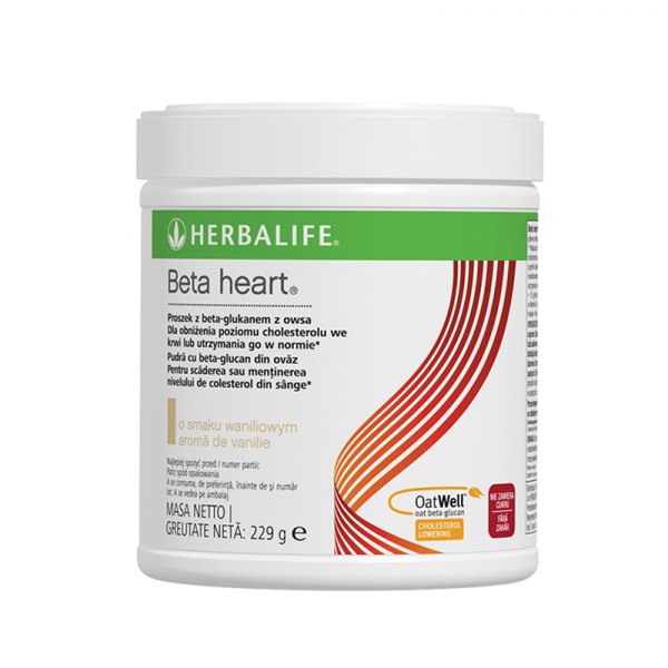 Herbalife Beta heart Vanilie 229g