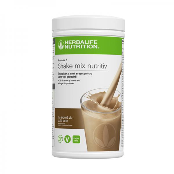 Herbalife Shake Formula 1 Café Latte 550g