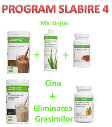 Program Slabire 4