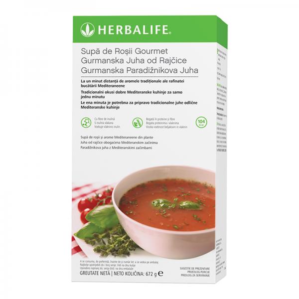 Supa de Roşii Gourmet Herbalife Pachet cu 21 de porții 672g