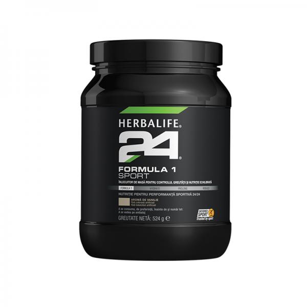 Herbalife Formula 1 Sport Vanilie 524g