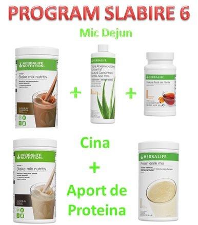 Program Slabire 6