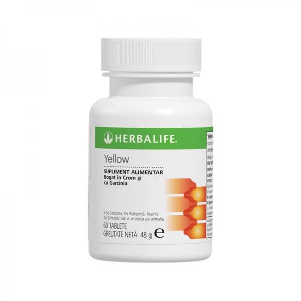Thermojetics Yellow Herbalife 60 de tablete